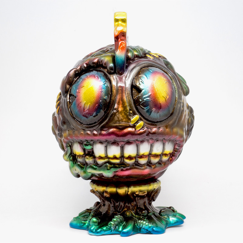 Metallic Madballs #1 by Mark Nagata ***SOLD***