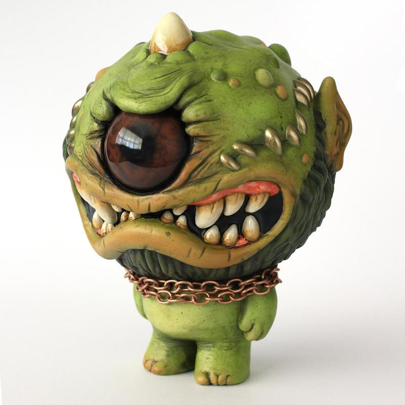 Blinky the Stumpy Horngoblin by Chris Ryniak ***SOLD***