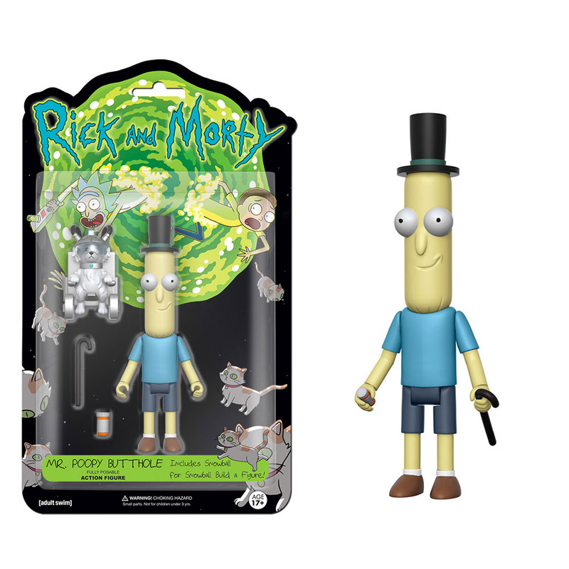 Rick and Morty 5 inch Action Figures