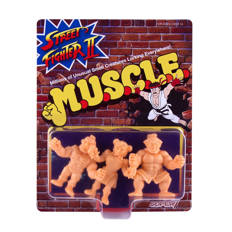 Street Fighter 2 MUSCLE Wave 1 : Pack D