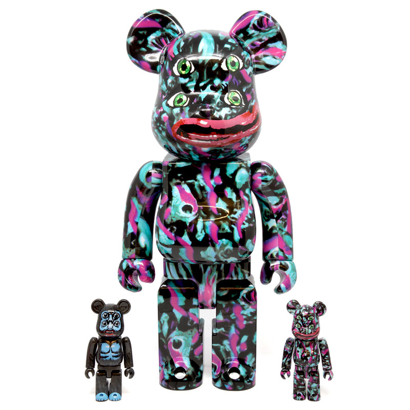 Be@rbrick 400% and 100% : NAGNAGNAG YOTSUME 2 Set of 3