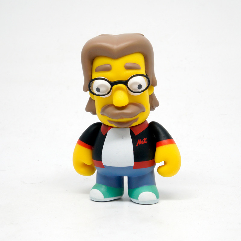 Simpsons 25th Anniversary Mini Series : Matt Groening *OPEN BOX*