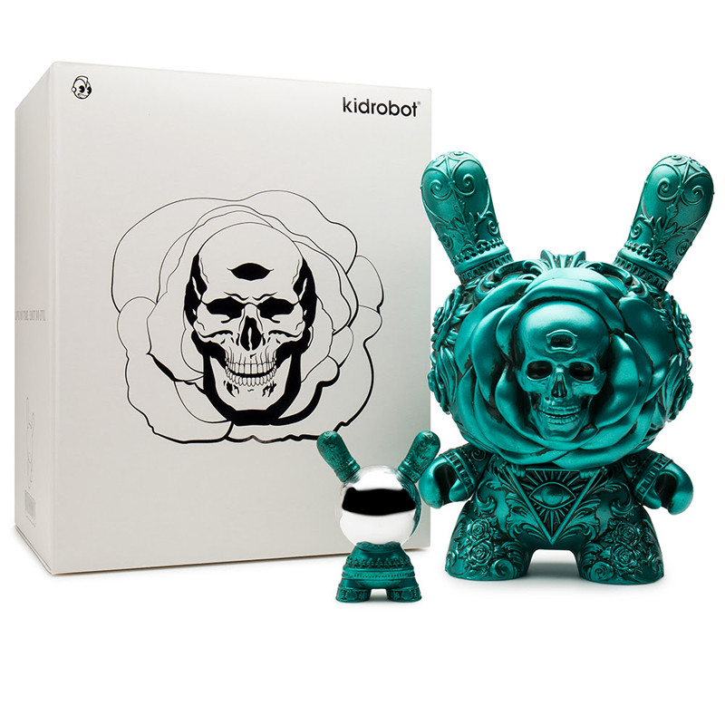 Dunny 8 inch : Clairvoyant Teal