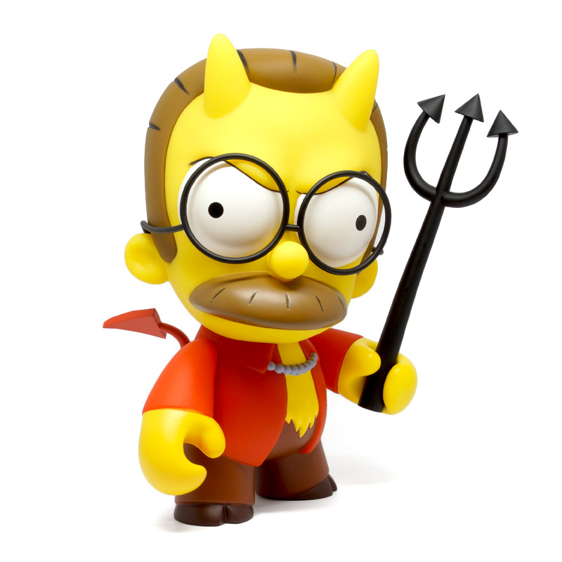 Simpsons 7 inch Devil Flanders