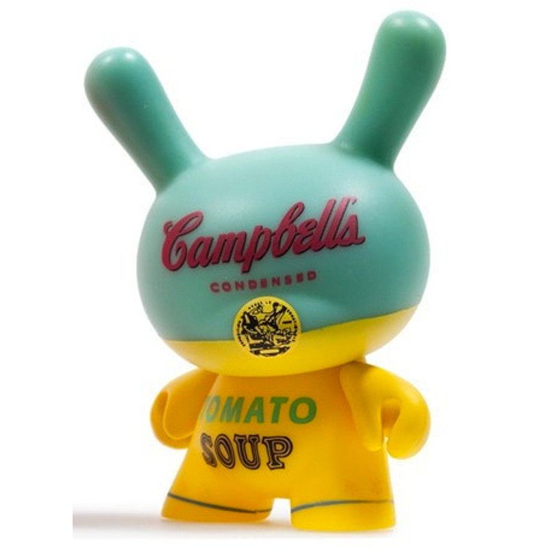 Warhol Dunny Series 2 : Campbells Soup Can *OPEN BOX*