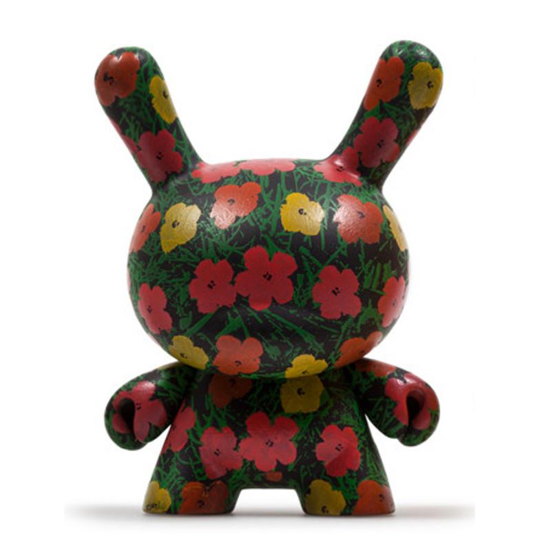 Warhol Dunny Series 2 : Flower Pattern *OPEN BOX*