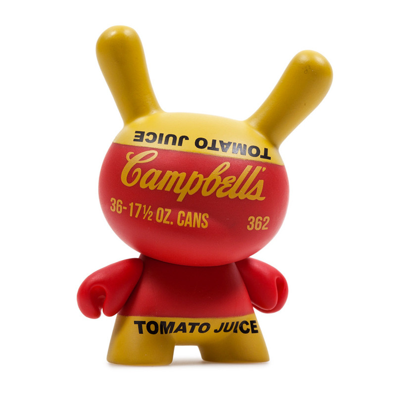 Warhol Dunny Series 2 : Campbells Soup Box *OPEN BOX*