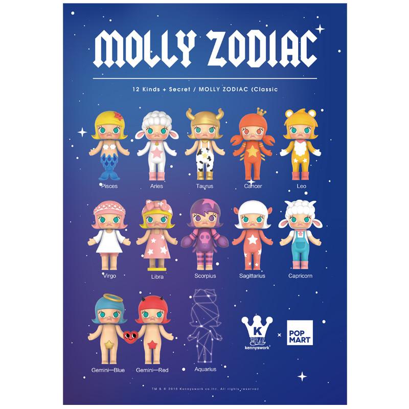 Molly Zodiac Classic Version 2 : Blind Box