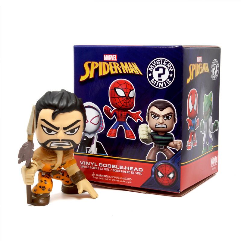 Classic Spider-Man Mystery Mini Bobble Head Series : Blind Box