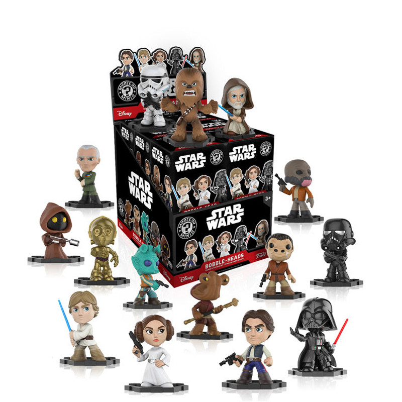 Classic Star Wars Mystery Mini Bobble Head Series : Blind Box