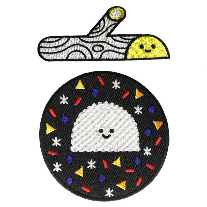 Treeson Embroidered patch set by Bubi Au Yeung