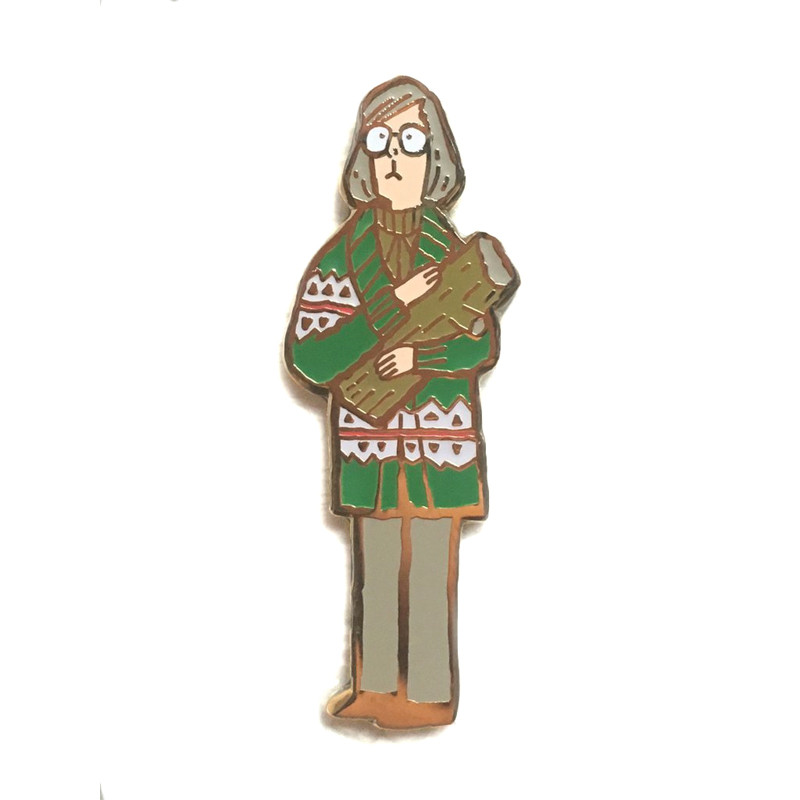 The Great Northern Pin Party : Log Lady Pin