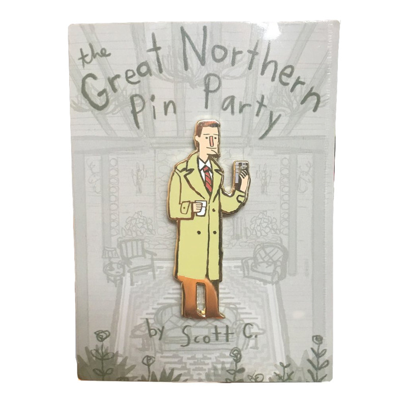 The Great Northern Pin Party : Agent Coop Pin