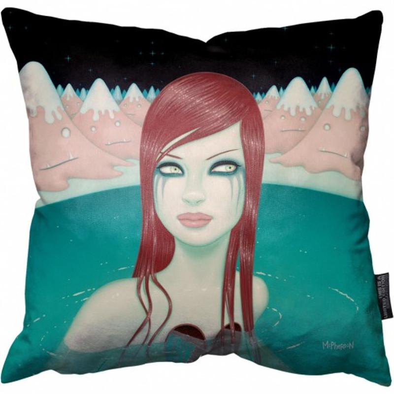 Weight of Water Pillow by Tara McPherson