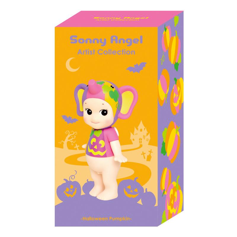 Sonny Angel Artists Collection : Halloween Pumpkin Elephant
