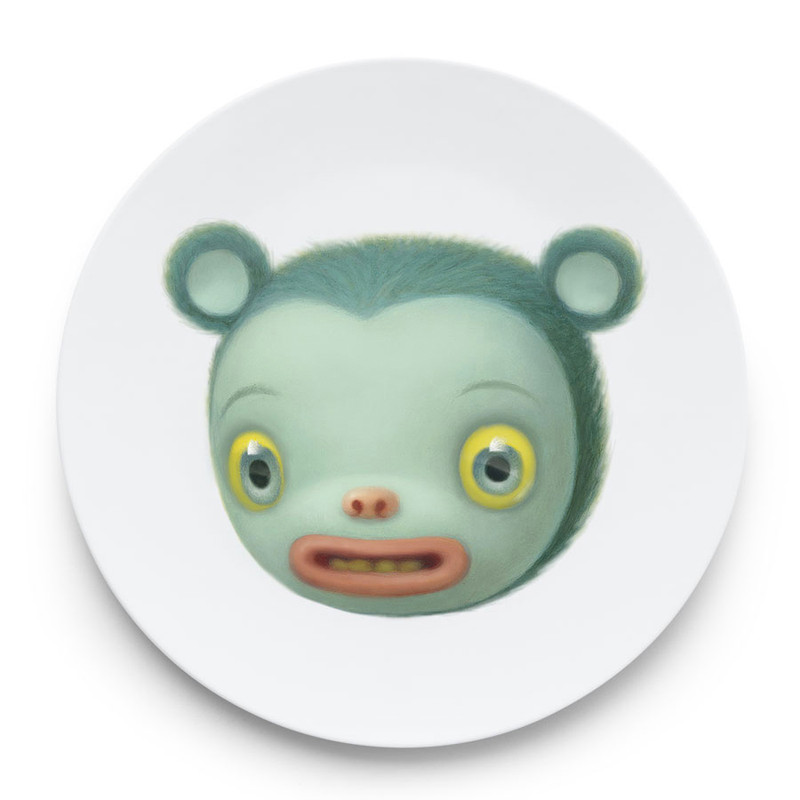 Friendly Animal Plates by Mark Ryden