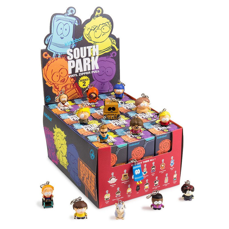 South Park Keychains Series 2 : Case of 24