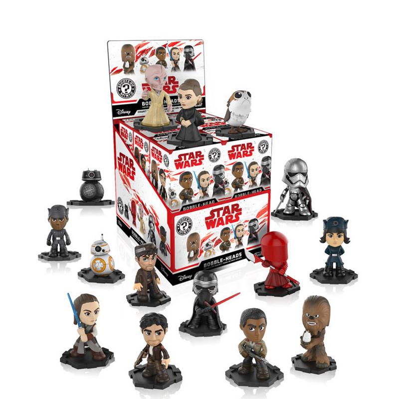 Star Wars The Last Jedi Mystery Mini Bobble Head Series : Blind Box