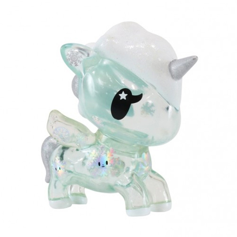 Yuki Holiday 5 inch Unicorno Vinyl : Clear Blue