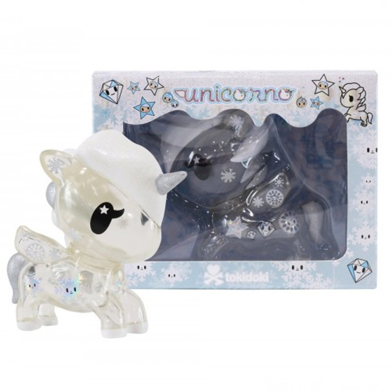 Yuki Holiday 5 inch Unicorno Vinyl : Clear