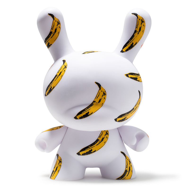 Andy Warhol 8 inch Masterpiece Dunny :  Banana PRE-ORDER SHIPS IN 2 WEEKS