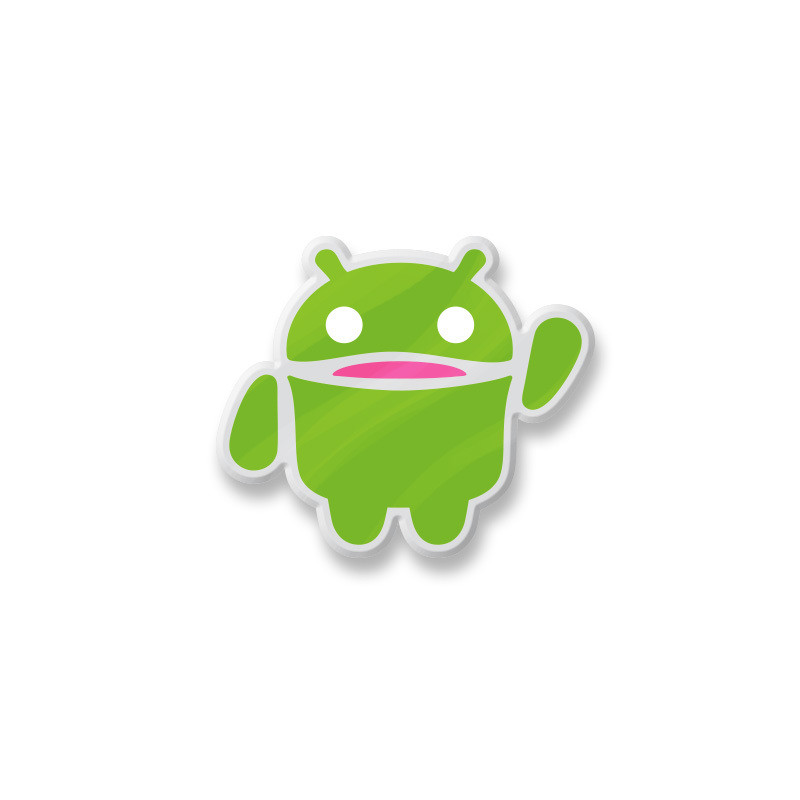 Android Andy Enamel Pin