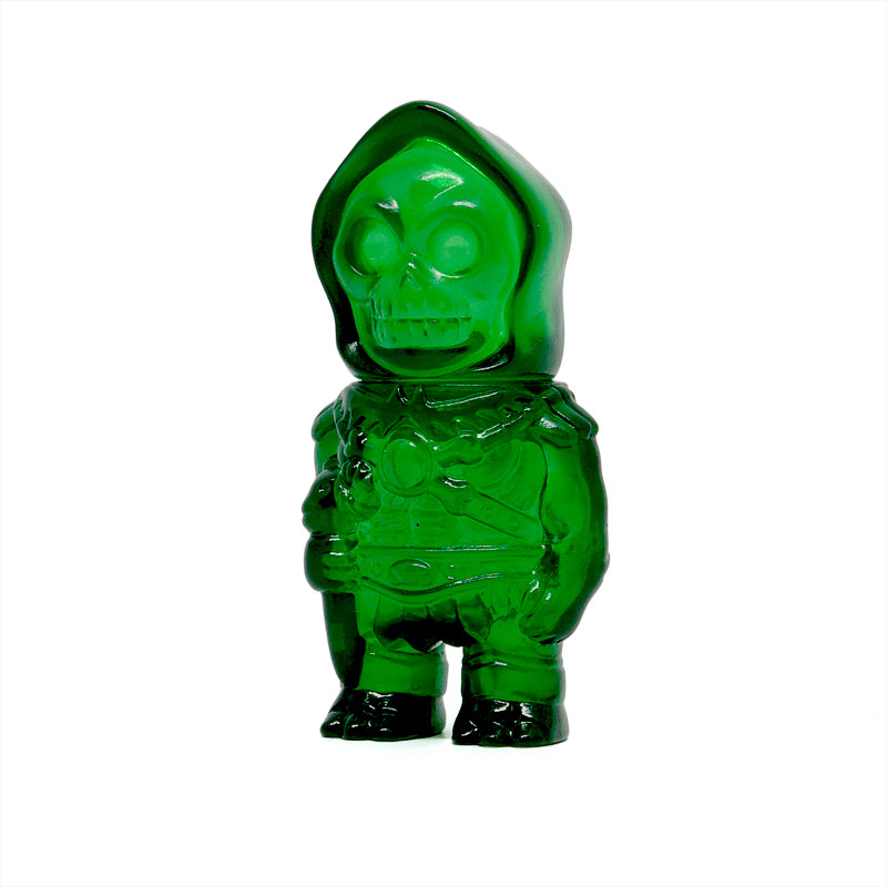Masters of the Universe Micro Skeletor : Clear Green