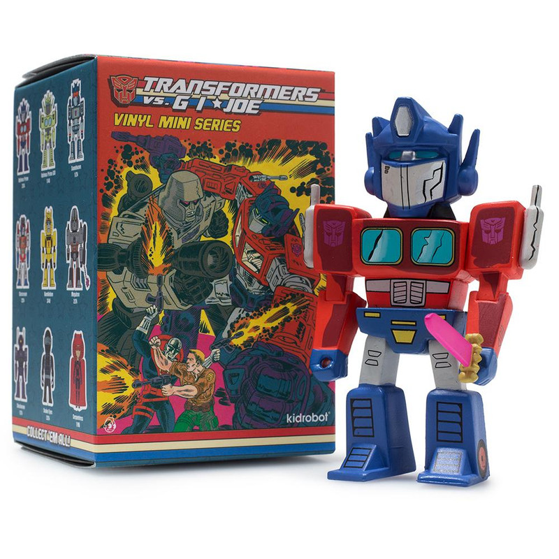 Transformers VS. G.I. Joe Mini Figure Series : Blind Box
