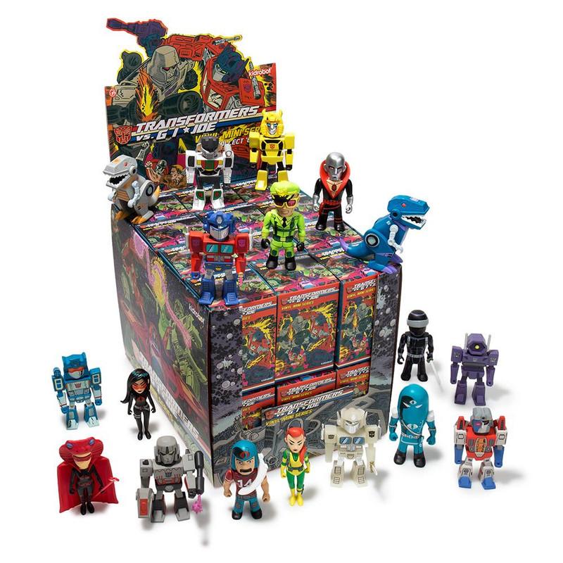 Transformers VS. G.I. Joe Mini Figure Series : Case of 24