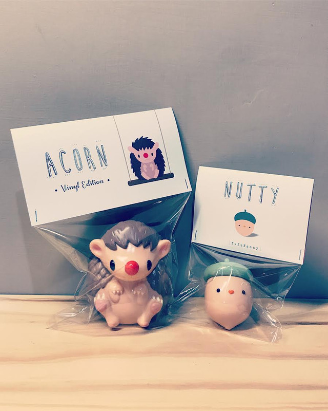 Acorn and Nutty