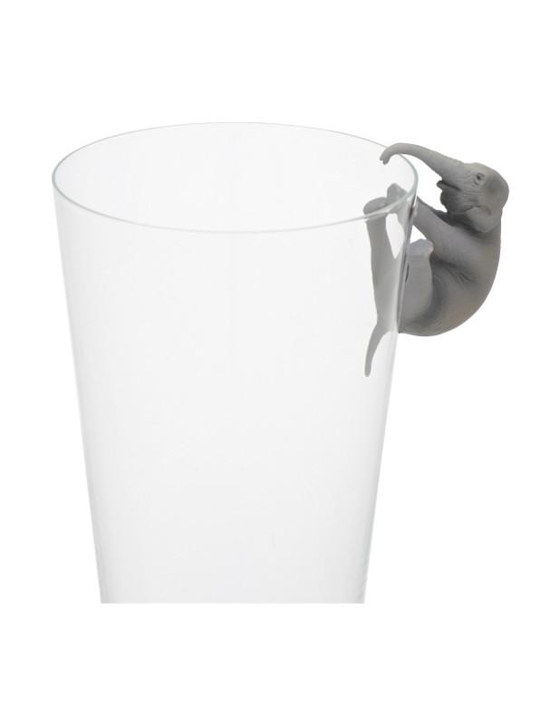 Putitto Hanako Asian Elephant on the Cup : Blind Box