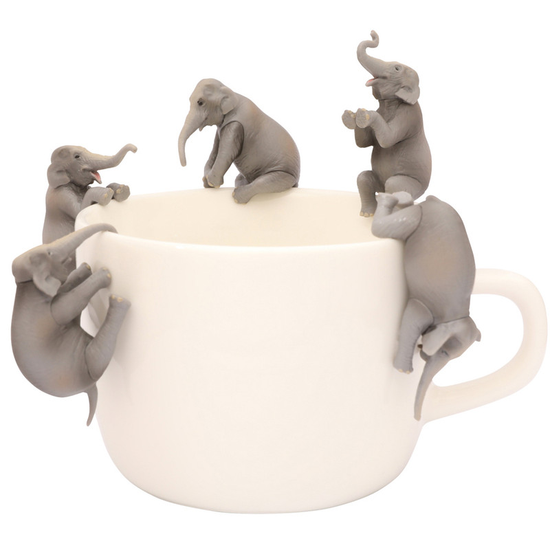 Putitto Hanako Asian Elephant on the Cup : Blind Box