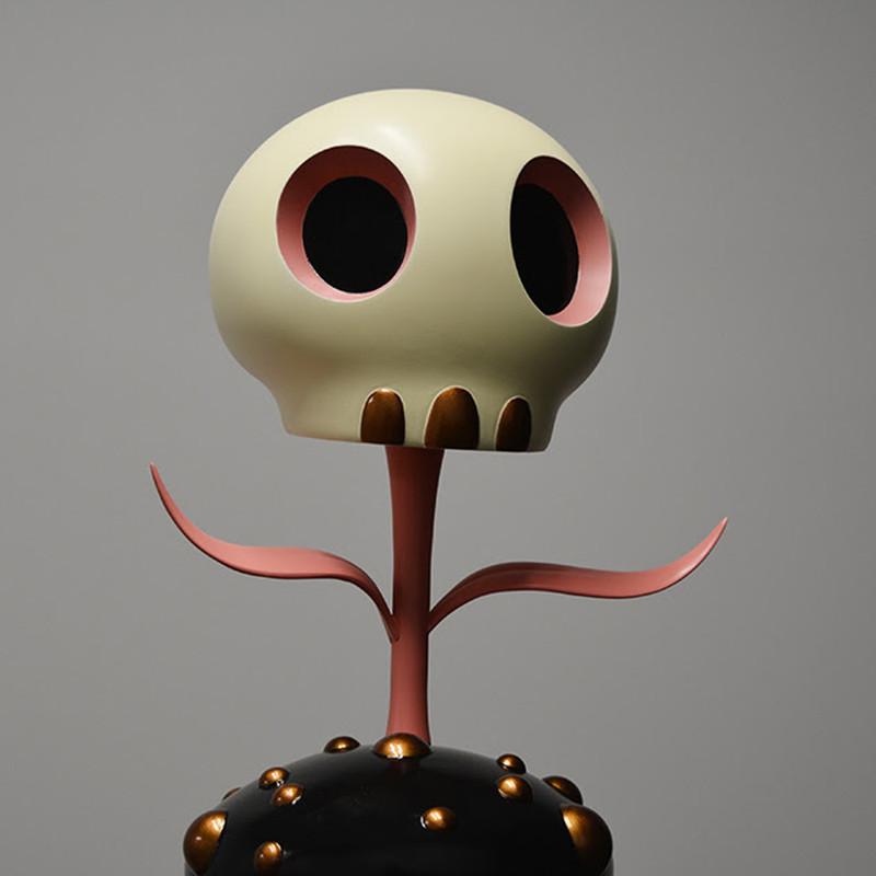 Skull Flower 12 inch by Tara McPherson PRE-ORDER SHIPS LATE FEB 2018