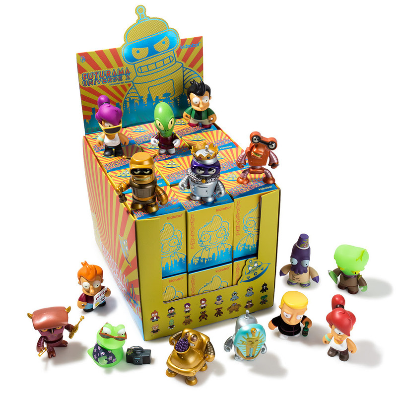Futurama Universe X Mini Series : Case of 24