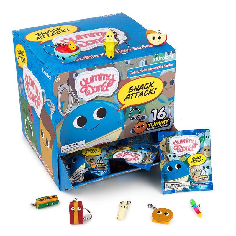 Yummy World Snack Attack Keychains : Blind Box