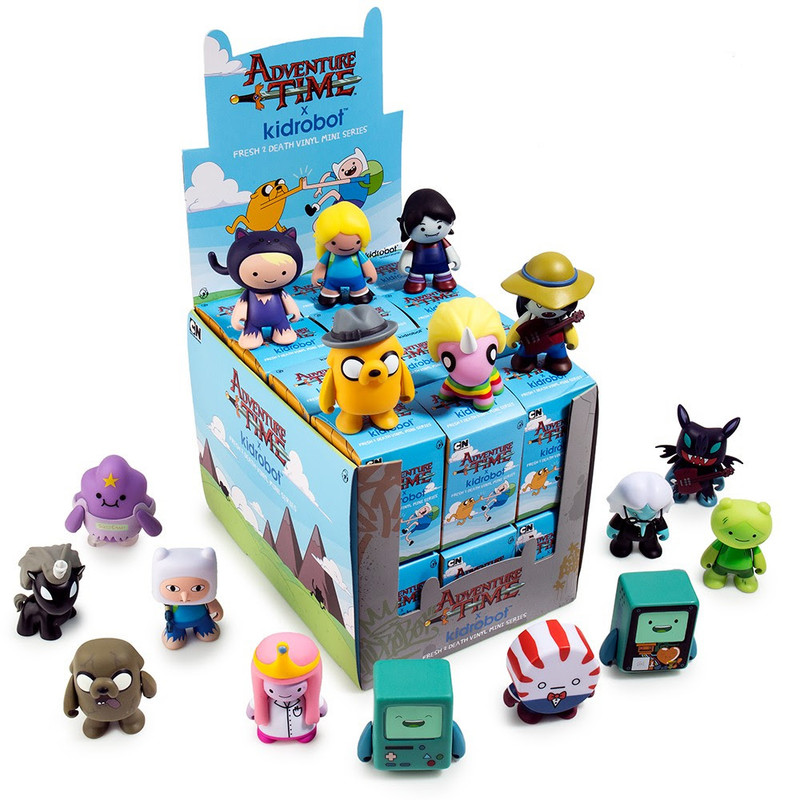 Adventure Time Fresh 2 Death Mini Series : Case of 24