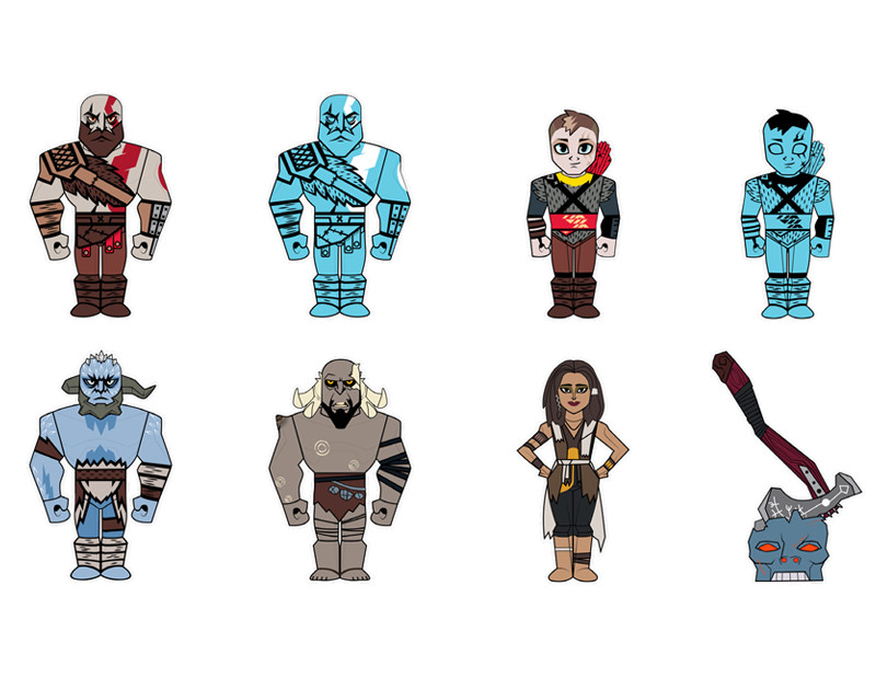 God of War Mini Series : Blind Box PRE-ORDER SHIPS MAR 2018