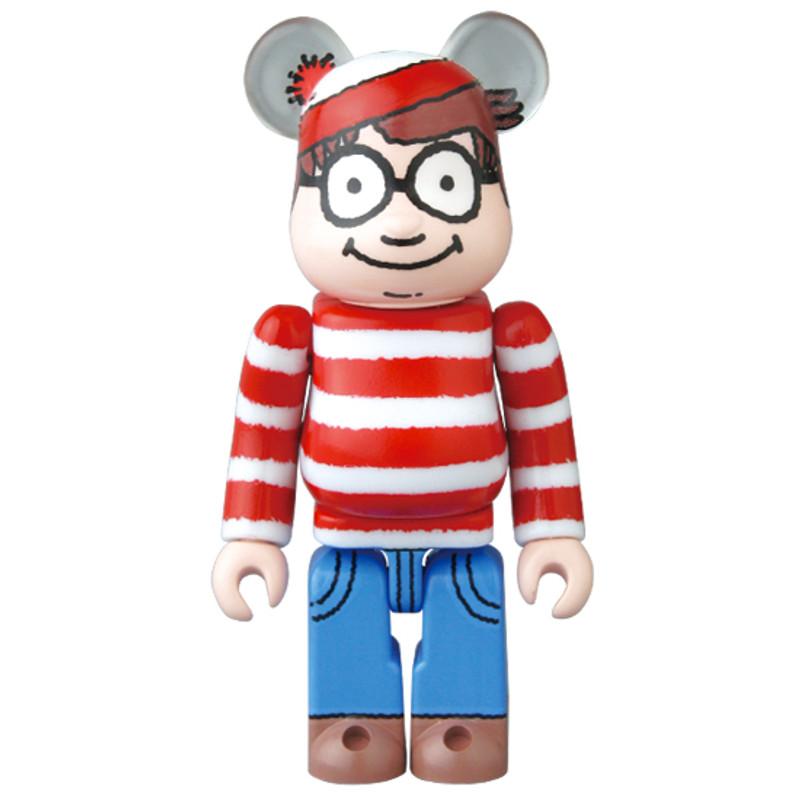 Be@rbrick 35 : Pattern (Where's Waldo?) *OPEN BOX*