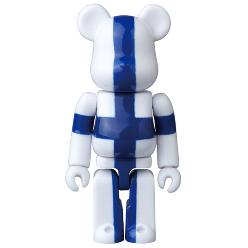 Be@rbrick 35 : Flag (Finland) *OPEN BOX*