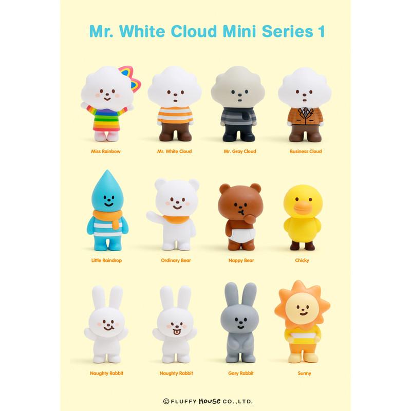 Mr. White Cloud Mini Series 1 : Blind Box
