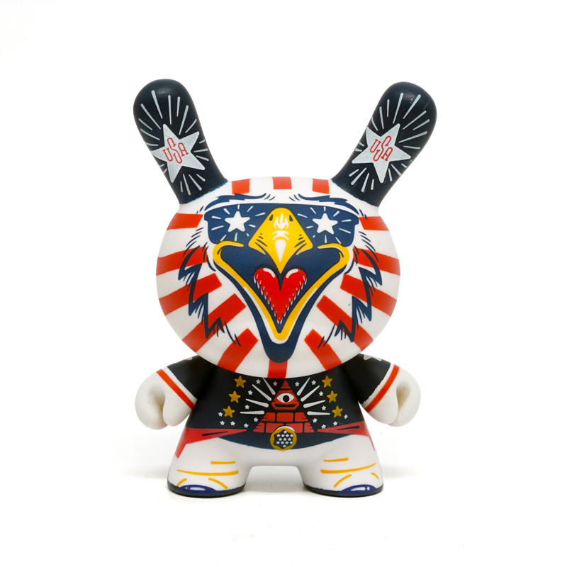 Dunny 3 inch : Indie Eagle