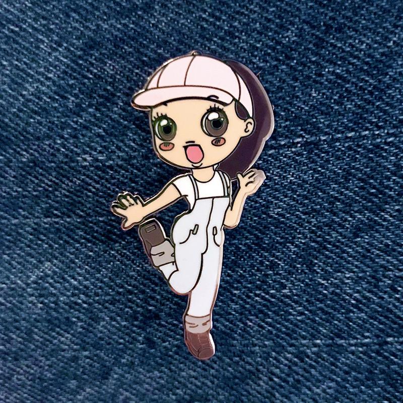 Boonicorn : Baby J Enamel Pin