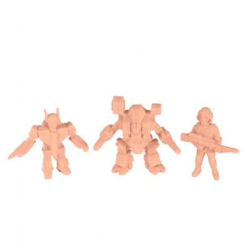 Robotech MUSCLE : Pack D