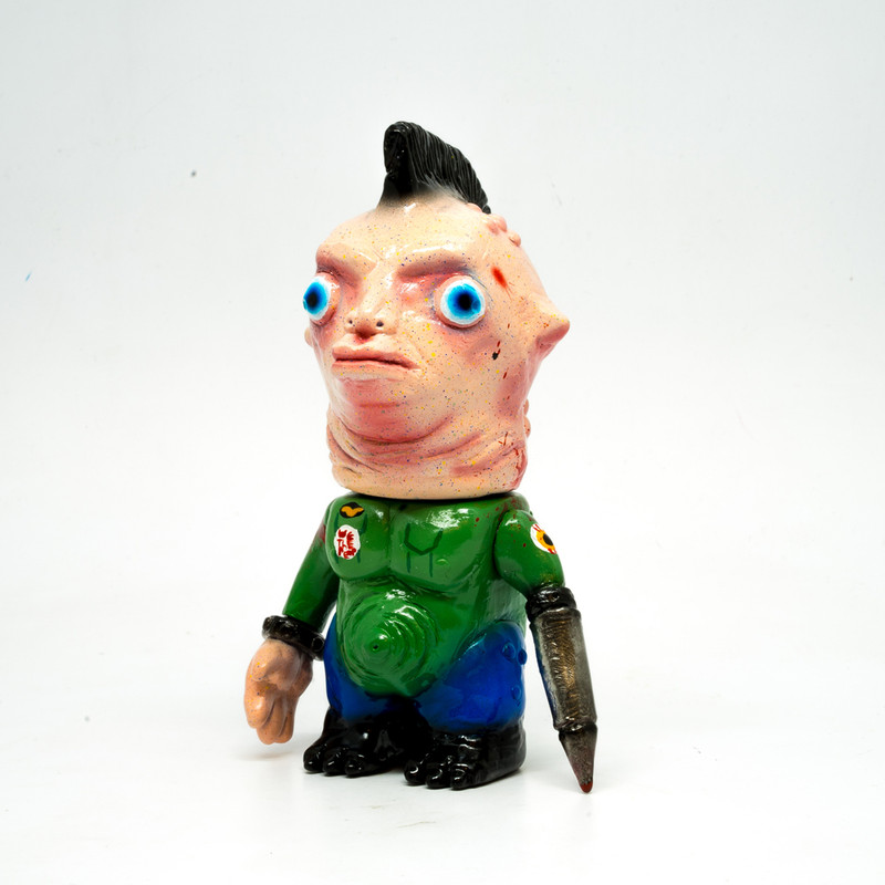 "Dr. Chickeye Punk Ancestor ""Taxi Driver"" by Akashikrecordstoys *SOLD*"