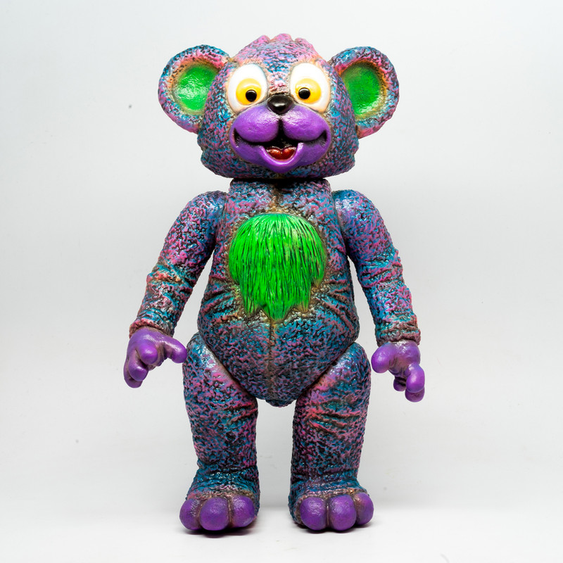 IT Bear Purple by Milkboy Toys X Kenth Toy Works *SOLD*