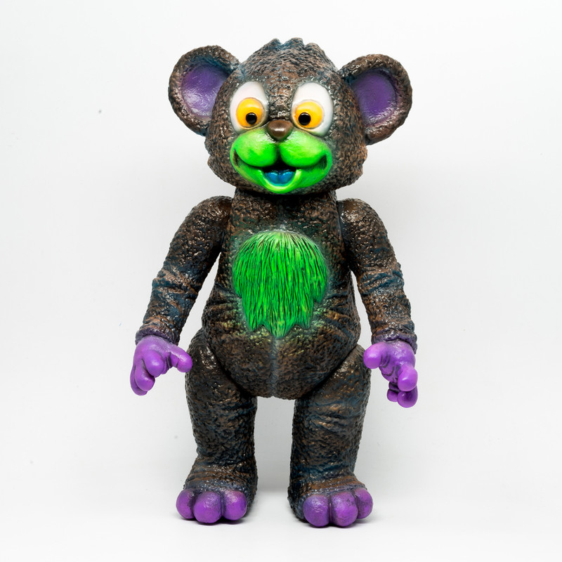 IT Bear Black by Milkboy Toys X Kenth Toy Works *SOLD*