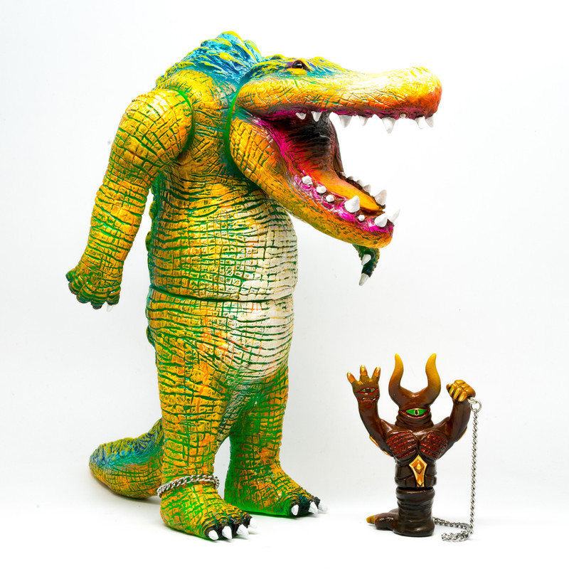 Swamp Daemon Lord with Familiar by Rampage Toys *SOLD*