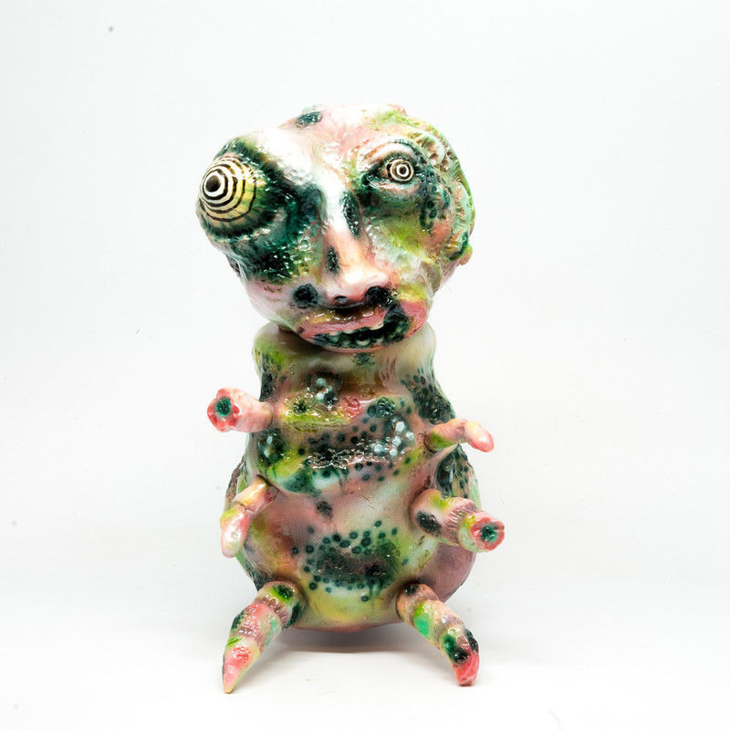 Putrefied Pearl by Trash Talk Toys *SOLD*