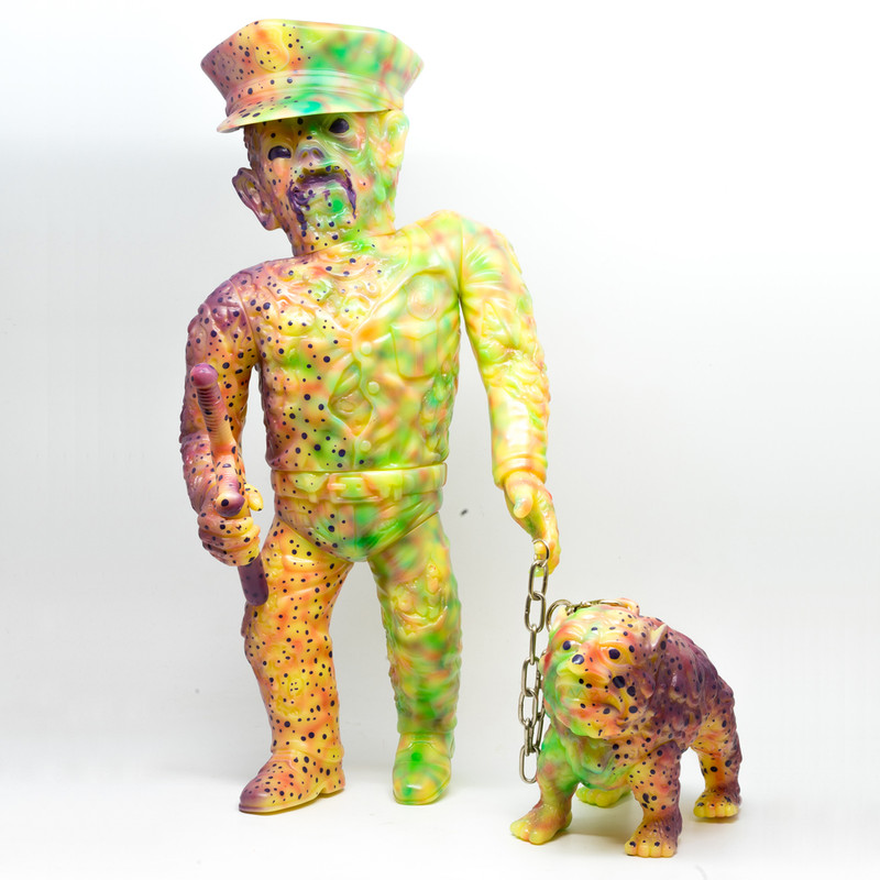 Mutant Cop & DK-9 by Violence Toy *SOLD*