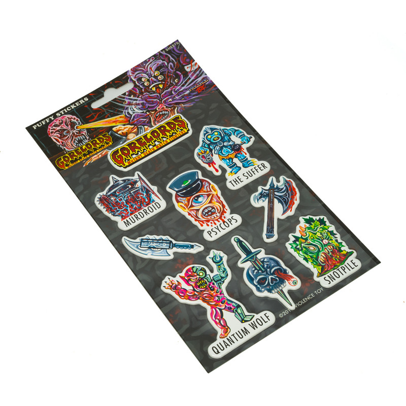 Puffy Stickers by Violence Toy